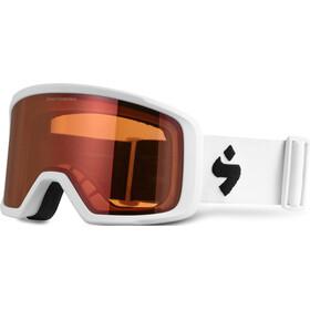 Sweet Protection Firewall Goggles Herren satin white/white-orange